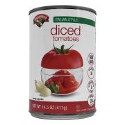 Hannaford Italian Diced Tomatoes