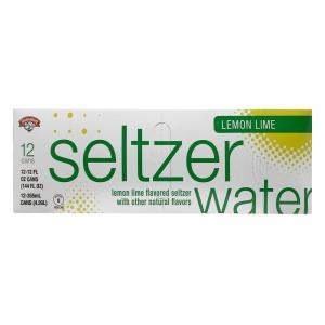 Hannaford Lemon-Lime Seltzer Water