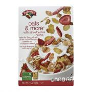 Hannaford Oats & More w/Strawberries Cereal