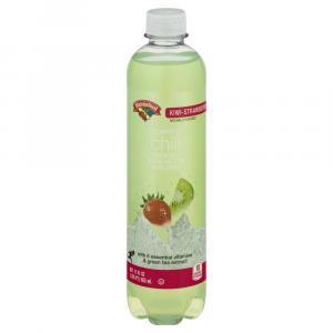 Hannaford Sparkling Chill Kiwi Strawberry Sparkling Water