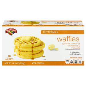 Hannaford Buttermilk Waffles