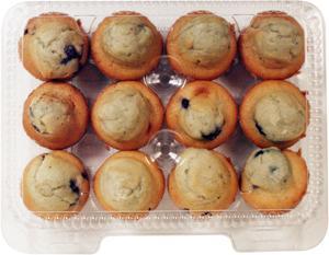 Hannaford Mini Blueberry Muffins