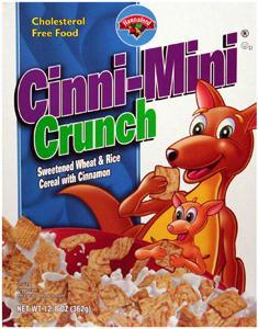 Hannaford Cinni-mini Crunch Cereal