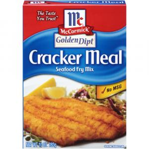 McCormick Golden Dipt Cracker Meal