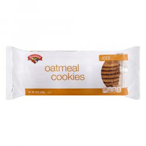 Hannaford Iced Oatmeal Cookies