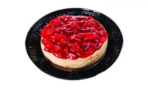 """7"""" Strawberry Topped Cheesecake"""