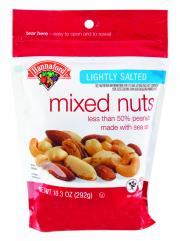 Hannaford Mixed Nuts Lightly Salted