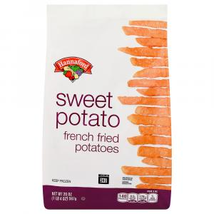 Hannaford Sweet Potato French Fried Potatoes