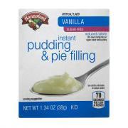 Hannaford Sugar Free Vanilla Instant Pudding Mix