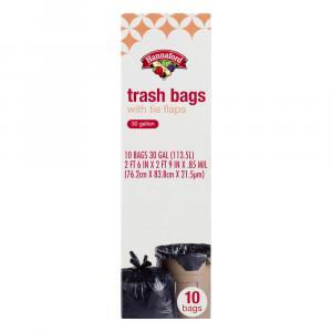 Hannaford Trash Bags Tie Flap
