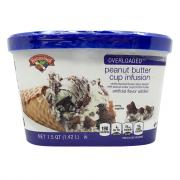 Hannaford Overloaded Peanut Butter Cup Infusion Ice Cream
