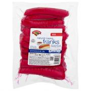 Hannaford Red Natural Casing Franks