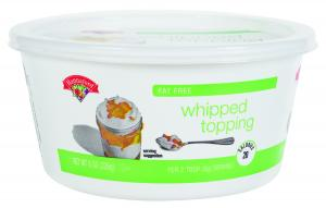 Hannaford Fat Free Whipped Topping