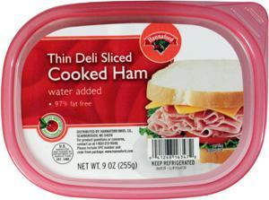 Hannaford Thin Deli-sliced Cooked Ham