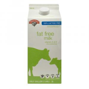 Hannaford Lactose Free Fat Free Milk