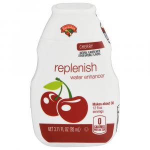 Hannaford Cherry Replenish Water Enhancer