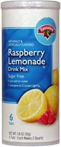Hannaford Sugar Free Raspberry Lemonade Drink Mix