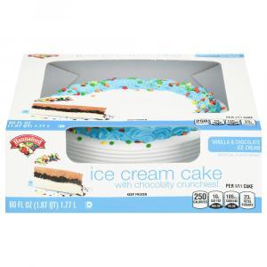 Hannaford Ice Cream Cake