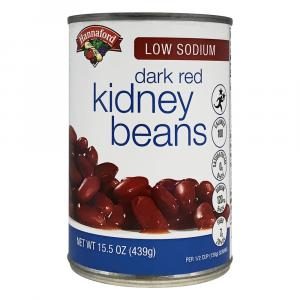 Hannaford Low Sodium Dark Red Kidney Beans