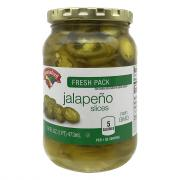 Hannaford Jalapeno Slices Fresh Pack