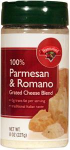 Hannaford Grated Parmesan & Romano Cheese