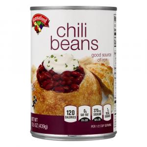 Hannaford Chili Beans