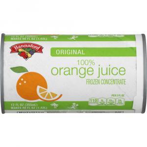 Hannaford Frozen Orange Juice