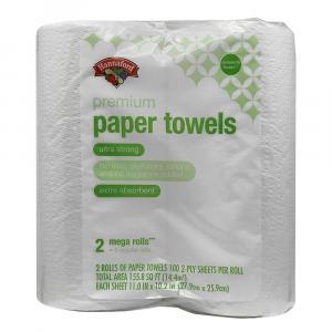 Hannaford Premium Mega Roll Paper Towels