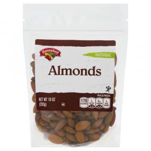 Hannaford Whole Natural Almonds