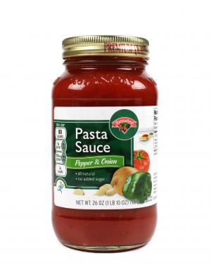 Hannaford Peppers & Onions Pasta Sauce