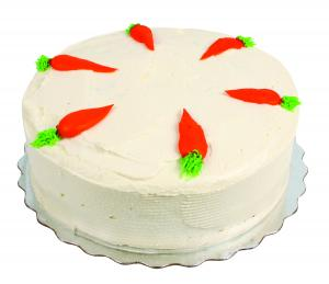 """8"""" Double Layer Iced Carrot Cake"""