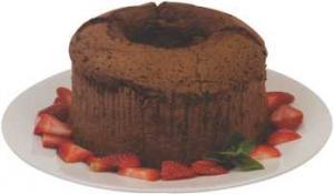 Hannaford Chocolate Angel Food Cake