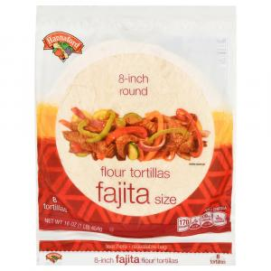 "Hannaford 8"" Flour Tortillas"