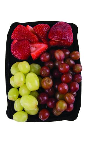 Snack Pack Grapes and Strawberries