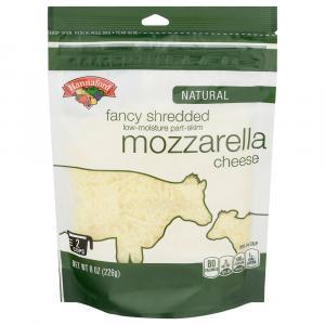 Hannaford Part Skim Fancy Mozzarella Shredded Cheese