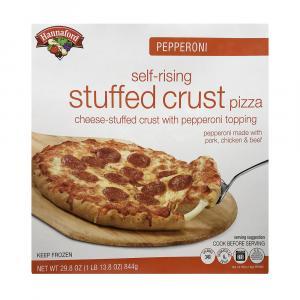 Hannaford Pepperoni Self-Rising Stuffed Crust Pizza