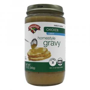 Hannaford Chicken Gravy Jar