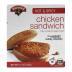 Hannaford Hot & Spicy Chicken Sandwich