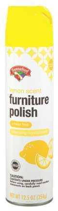 Hannaford Lemon Scent Furniture Polish
