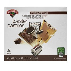 Hannaford Chocolate Variety Pack Toaster Pastry