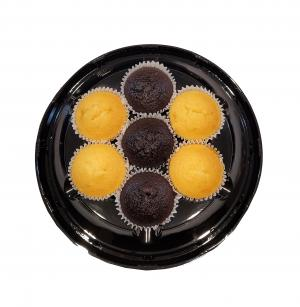Hannaford Uniced Assorted Cupcakes