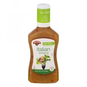 Hannaford Fat Free Italian Dressing