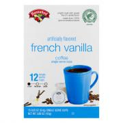 Hannaford French Vanilla Coffee Single Serving Cup
