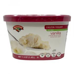 Hannaford Vanilla Frozen Yogurt