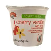 Hannaford Nonfat Cherry Vanilla Yogurt