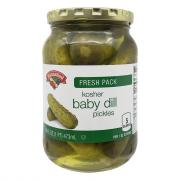 Hannaford Baby Dill Kosher Pickles