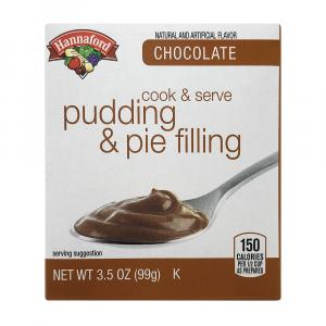 Hannaford Chocolate Cooked Pudding Mix