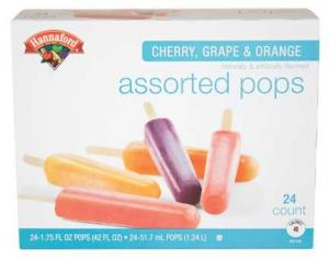 Hannaford Assorted Pops