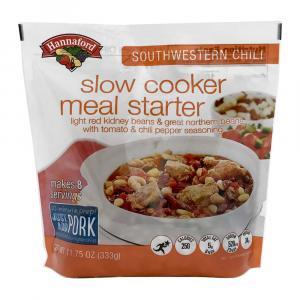 Hannaford Slow Cooker Meal Starter Southwestern Chili