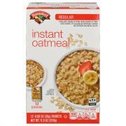 Hannaford Instant Oatmeal